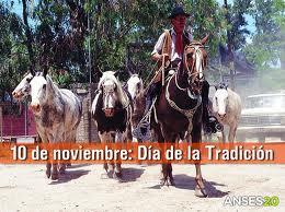 """10 de noviembre """"Día de la tradición"""""""